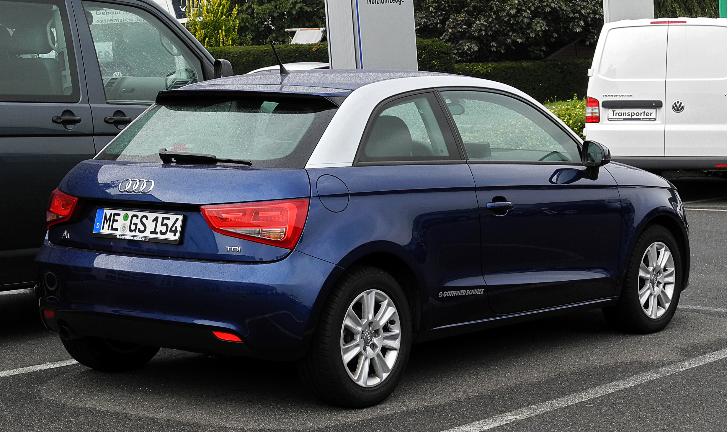 File Audi A1 1 6 Tdi Attraction Heckansicht 4