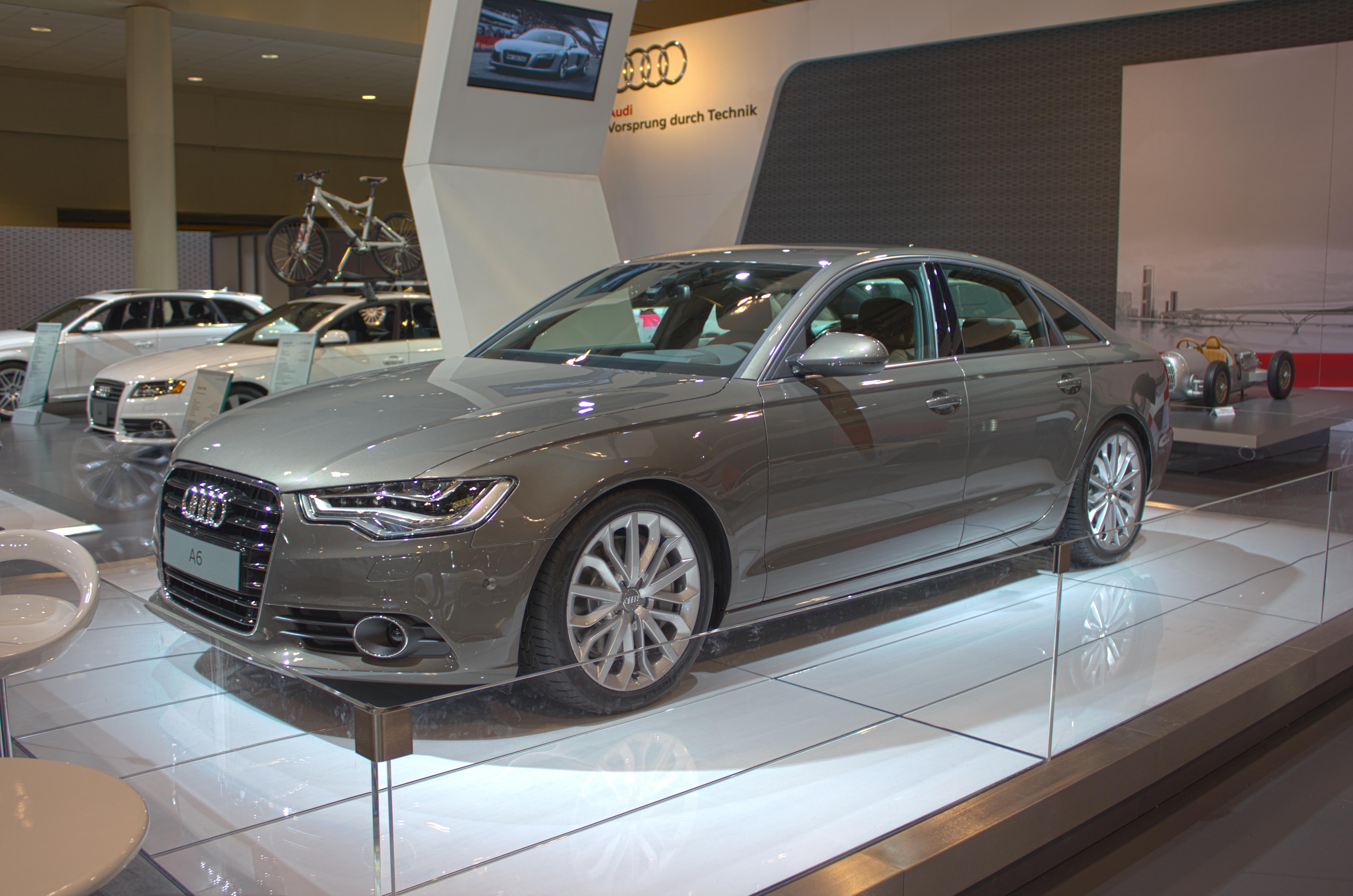 FileAudi A HDR At Toronto Auto Show Jpg Wikimedia Commons - Audi toronto