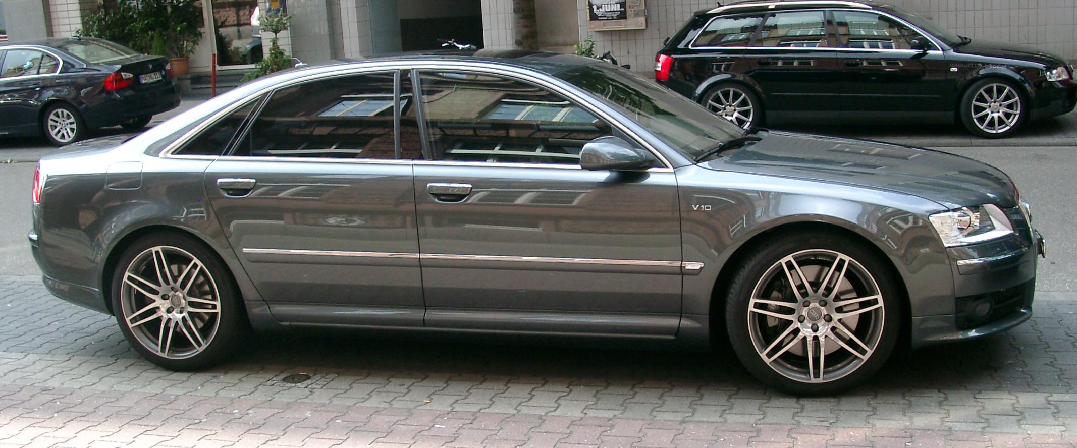 File Audi S8 Side 20070523 Jpg Wikimedia Commons