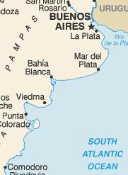 Bahía Blanca Partido Wikipedia - Argentina map bahia blanca