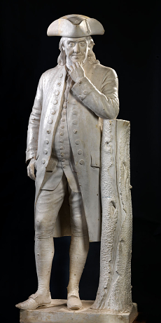 Benjamin Franklin by Hiram Powers Benjamin Franklin by Hiram Powers.jpg