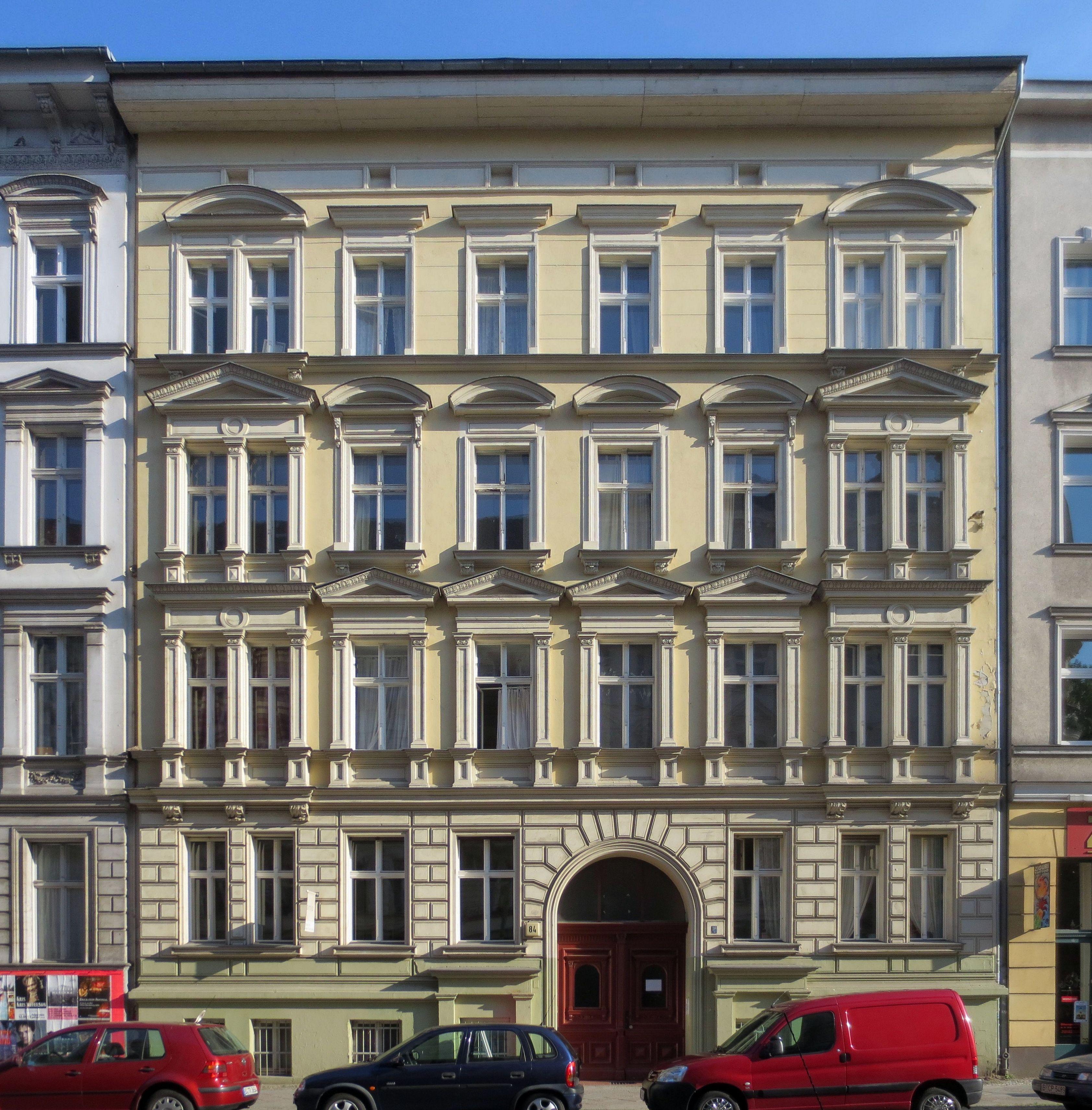 file berlin schoeneberg grunewaldstrasse 84 wikimedia commons. Black Bedroom Furniture Sets. Home Design Ideas