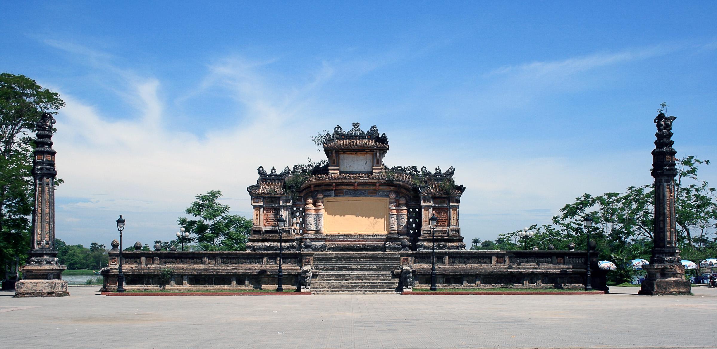 Image result for Hình Bia Quốc Học củ
