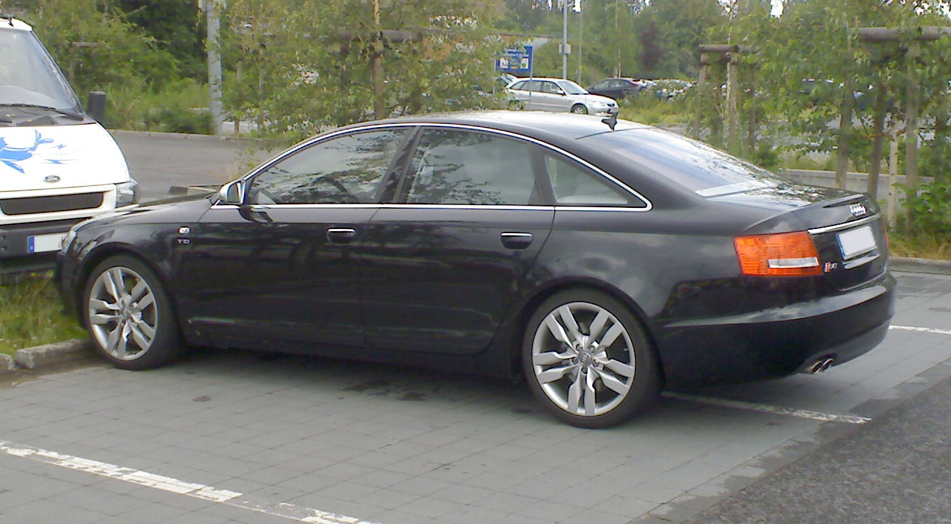 File Black S6 C6 Sedan Jpg Wikimedia Commons
