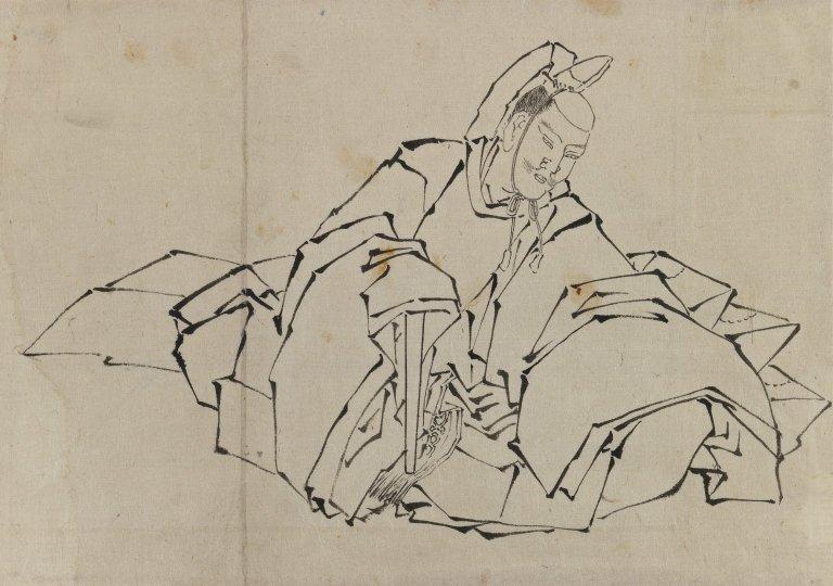 https://upload.wikimedia.org/wikipedia/commons/4/46/Brooklyn_Museum_-_Drawing_of_Seated_Nobleman_in_Full_Costume_-_Katsushika_Hokusai.jpg
