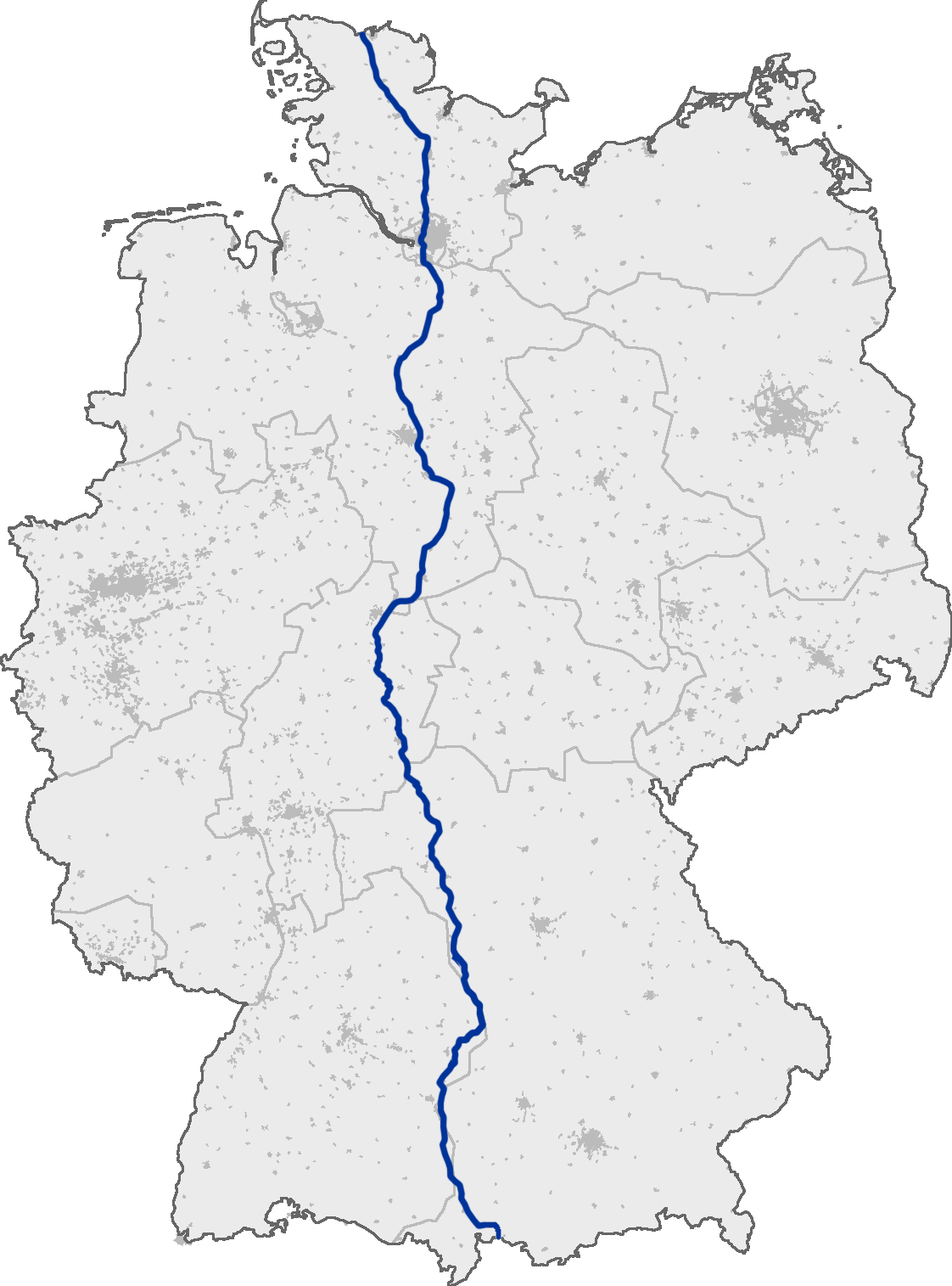 FileBundesautobahn Mappng Wikimedia Commons - Germany map autobahn