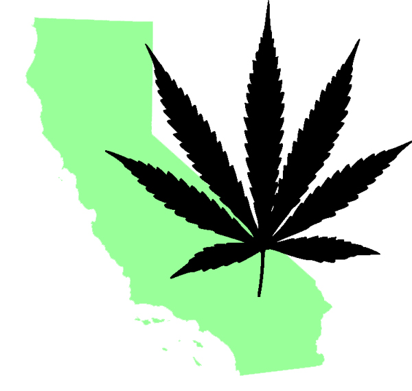 Pot Leaf Outline File:california marijuana