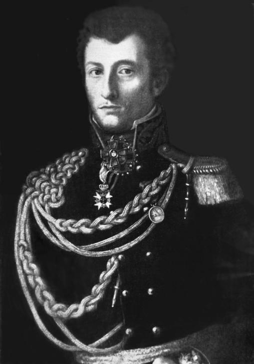 A young Carl von Clausewitz.
