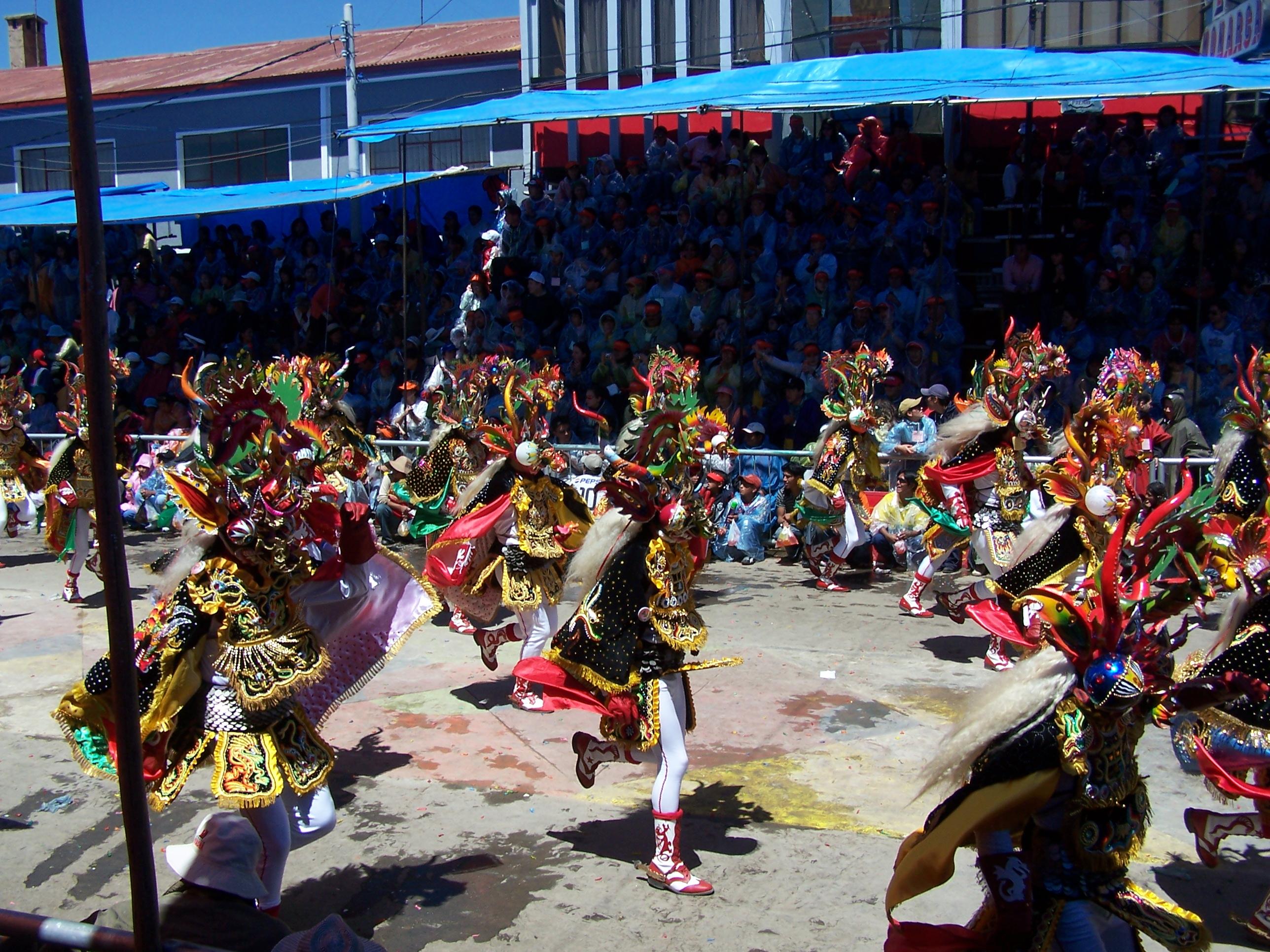 Carnaval de Oruro, un poco historia y fotos