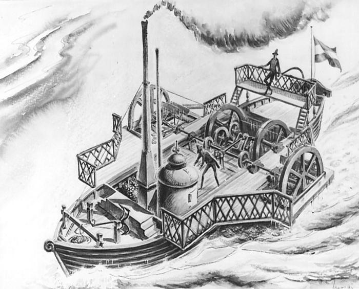 Gőzhajóval a Dunán - élménybeszámoló 1834-ből