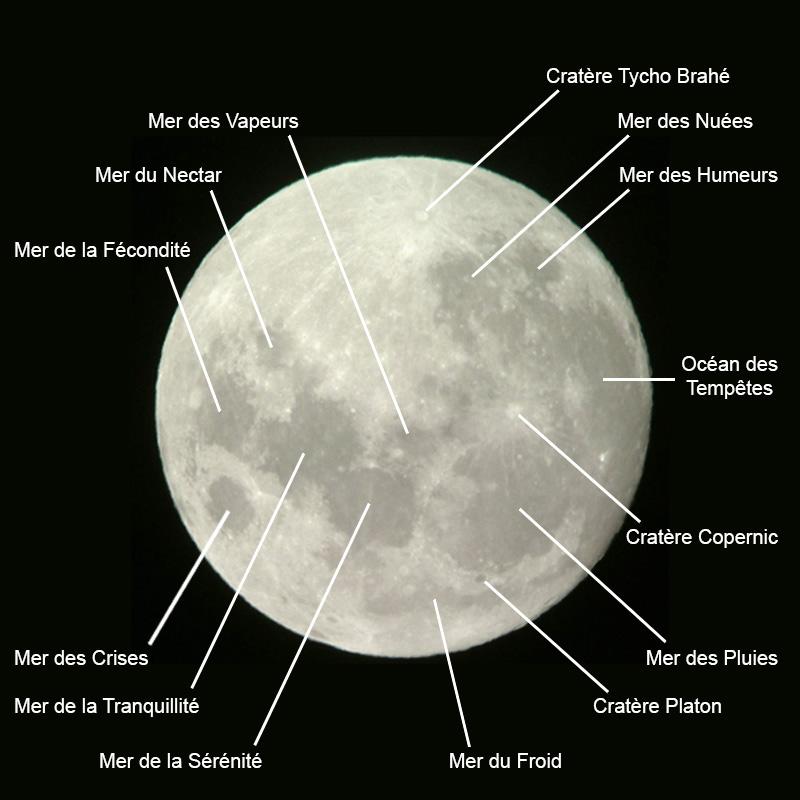 Je m 39 instruis en famille la lune 3 les diff rentes for Jardin et la lune