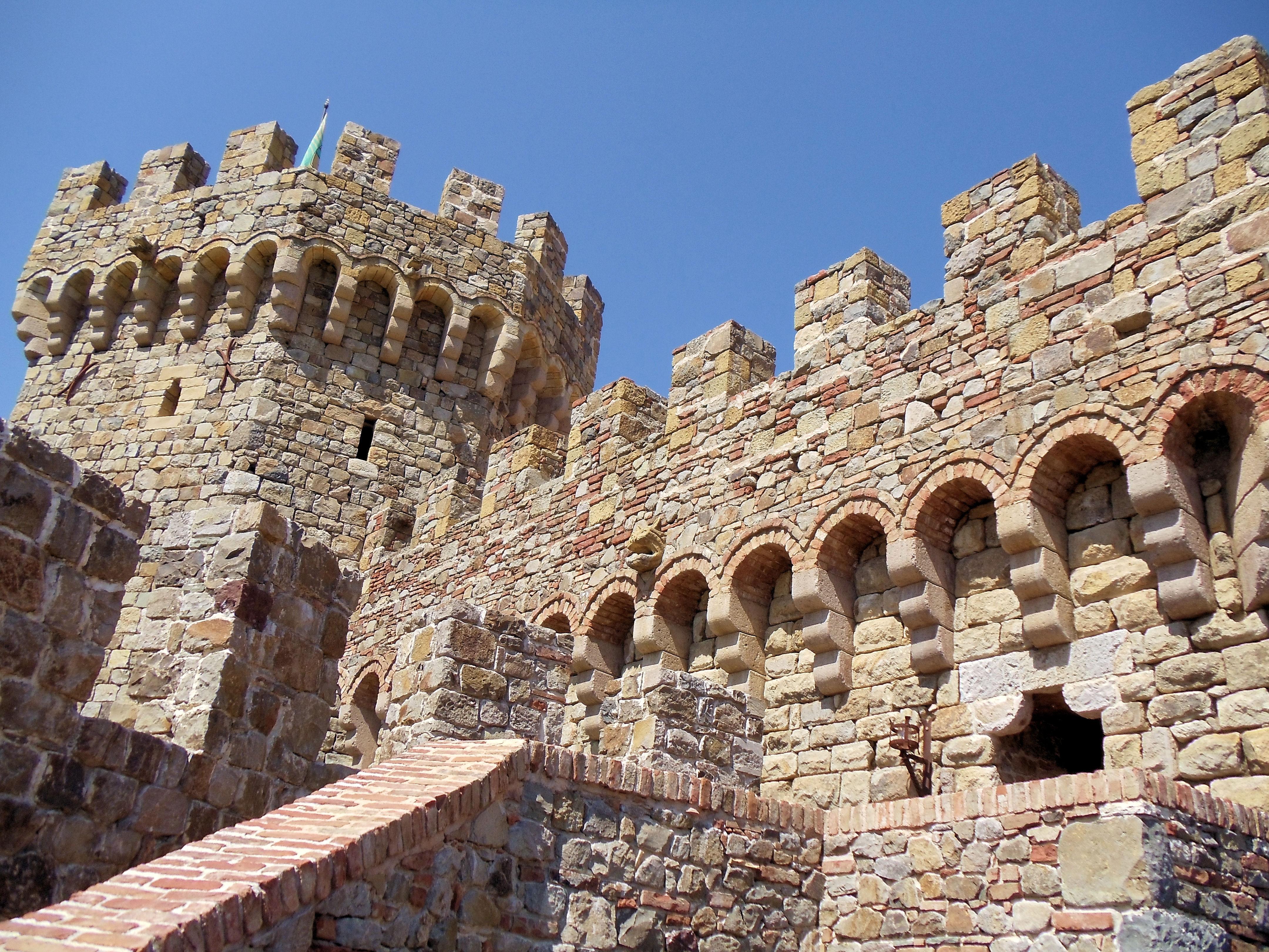 Castello Di Amorosa Winery Tour Coupon