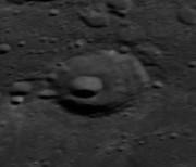 """月球背面""""张衡环形山"""""""