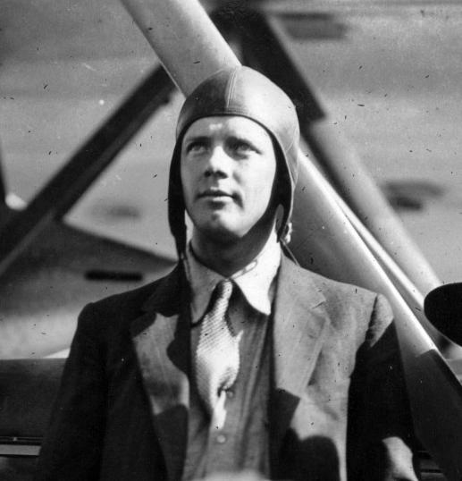 Charles Lindbergh Größe