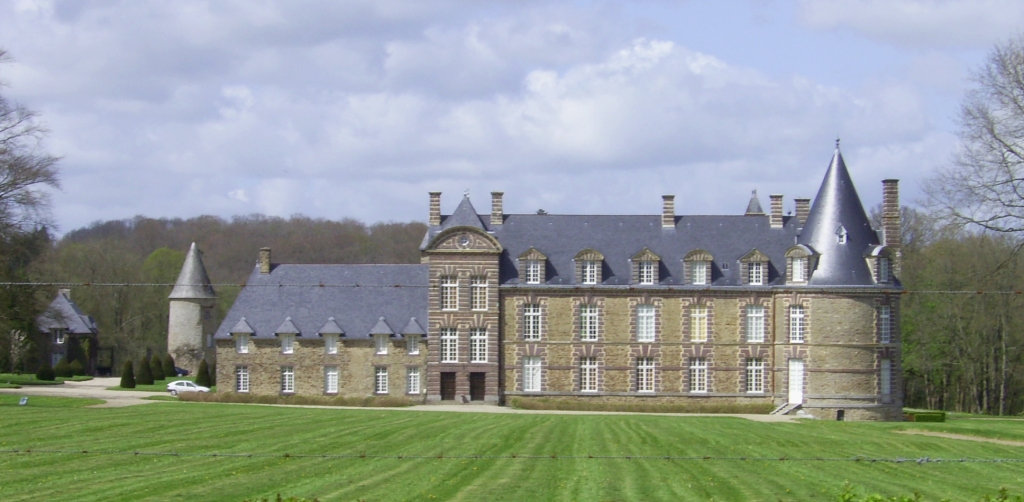 Château de la commune de Canisy