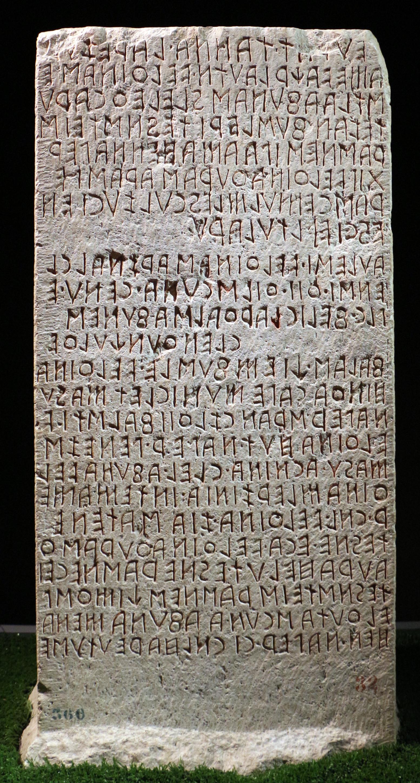 lingua etrusca wikiwand