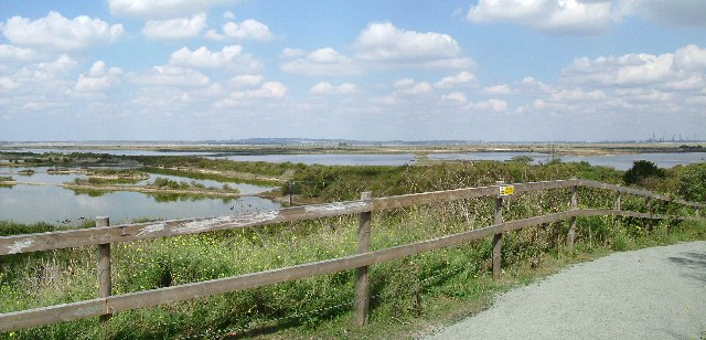 Cliffe Pools Panorama - geograph.org.uk - 104147