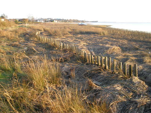 Coastal defence, Exton - geograph.org.uk - 1059792