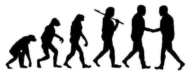 Description Conflict Resolution in Human Evolution jpgGradualism Definition
