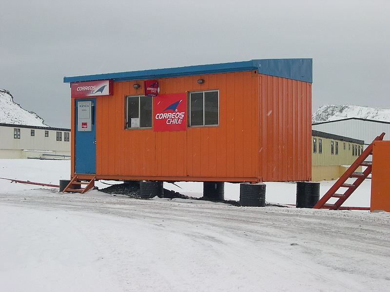 Correos de Chile in Antarctica