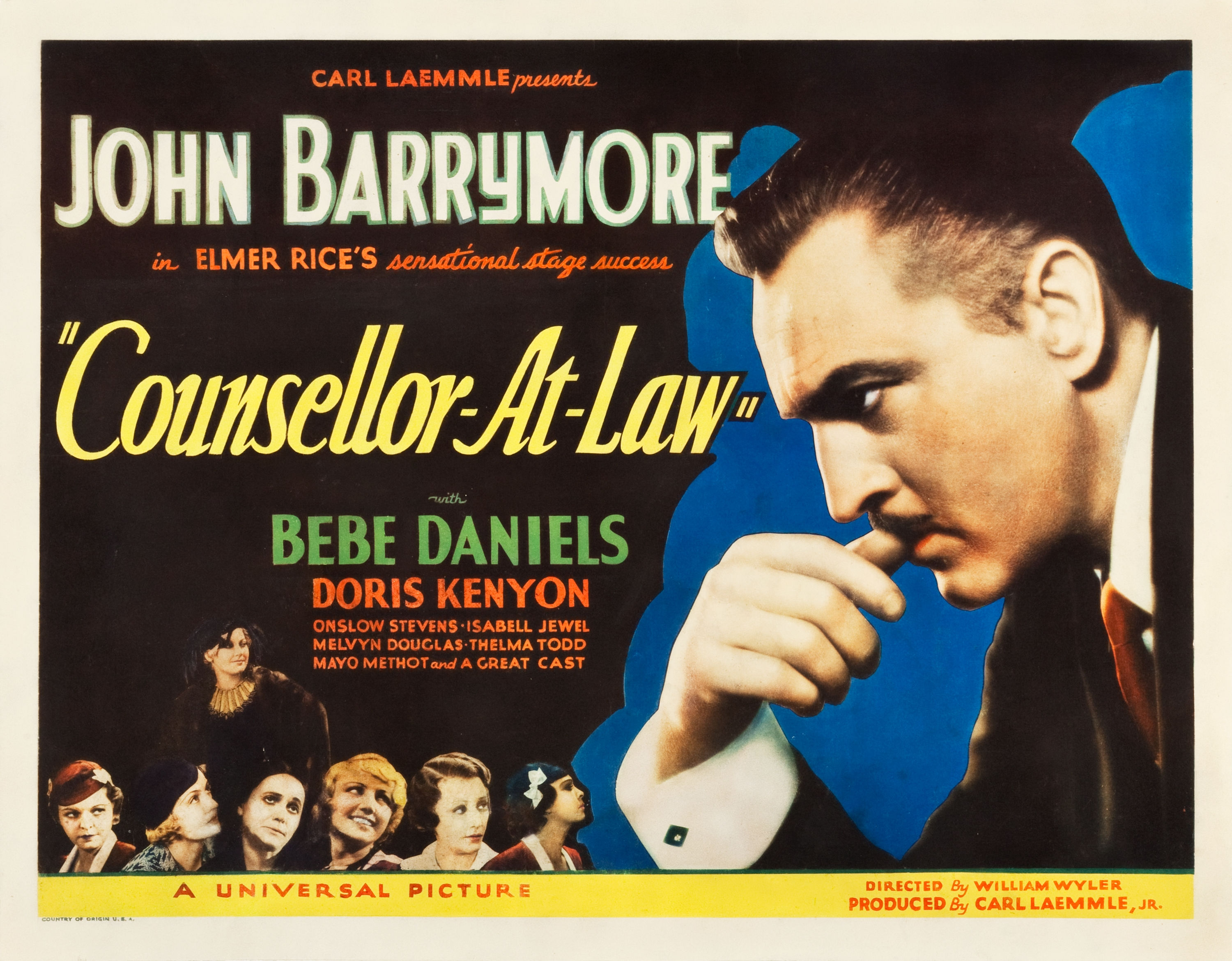 Counsellor at Law - Wikipedia
