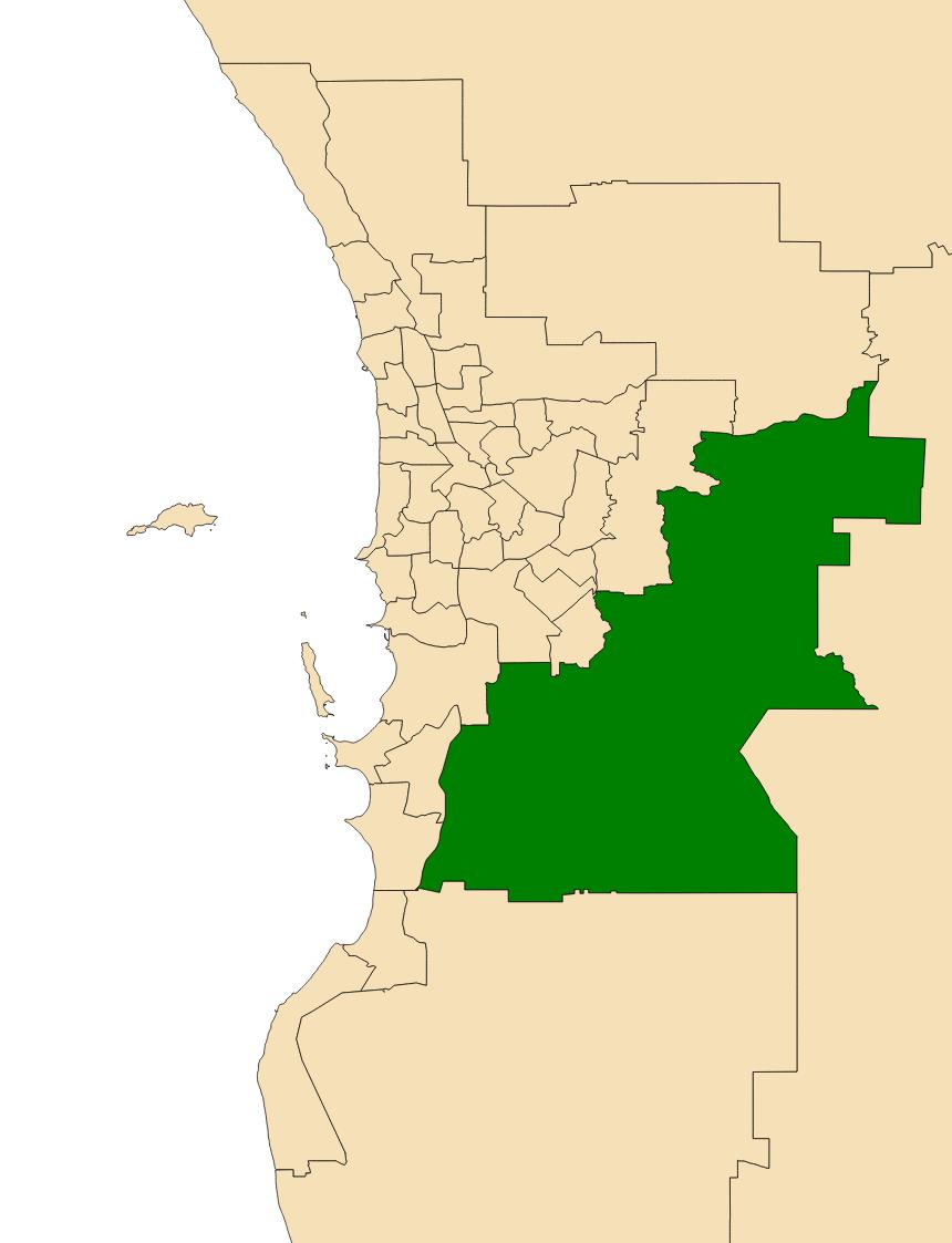 Date range in Perth