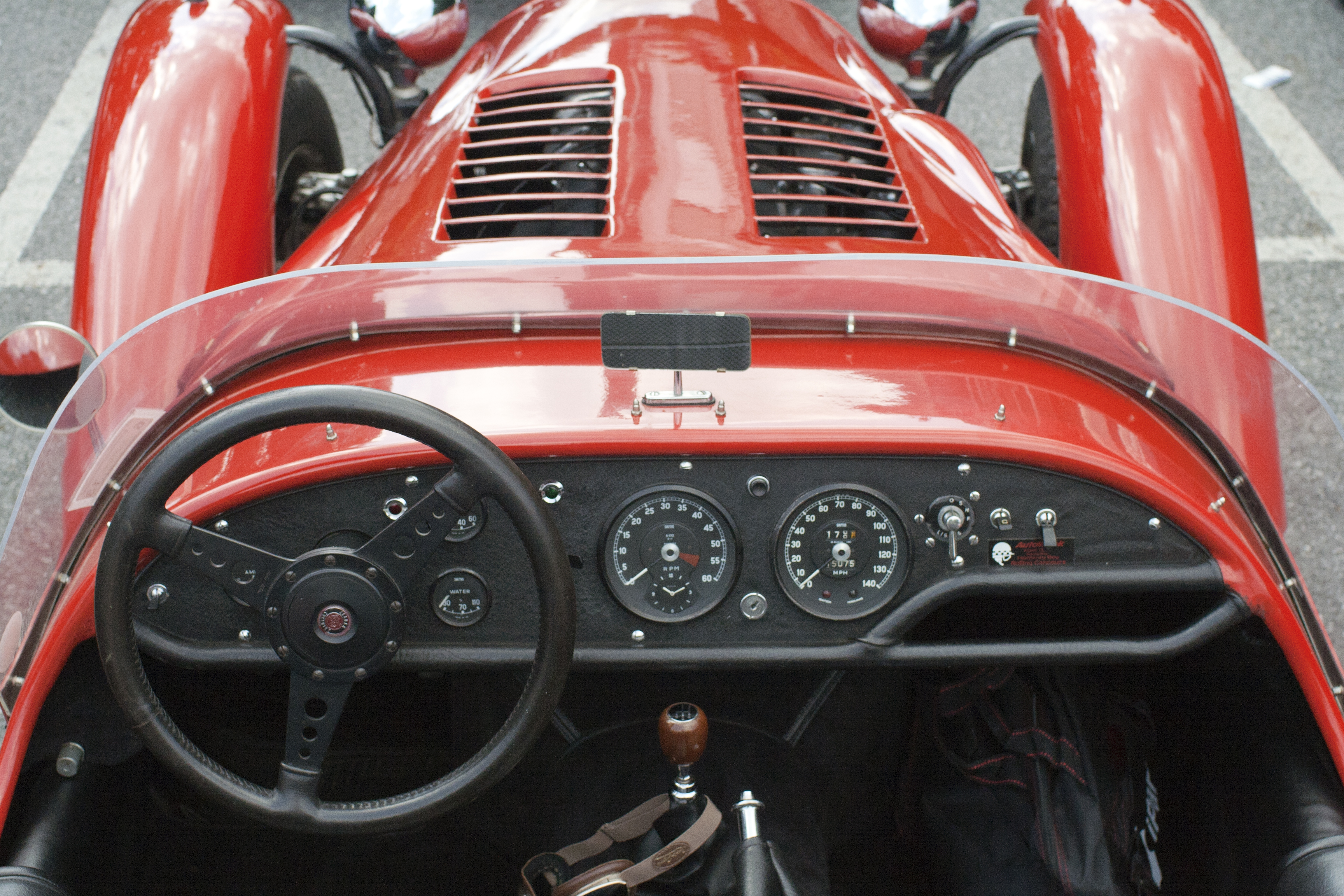 Dash of 1979 Kougar sports car