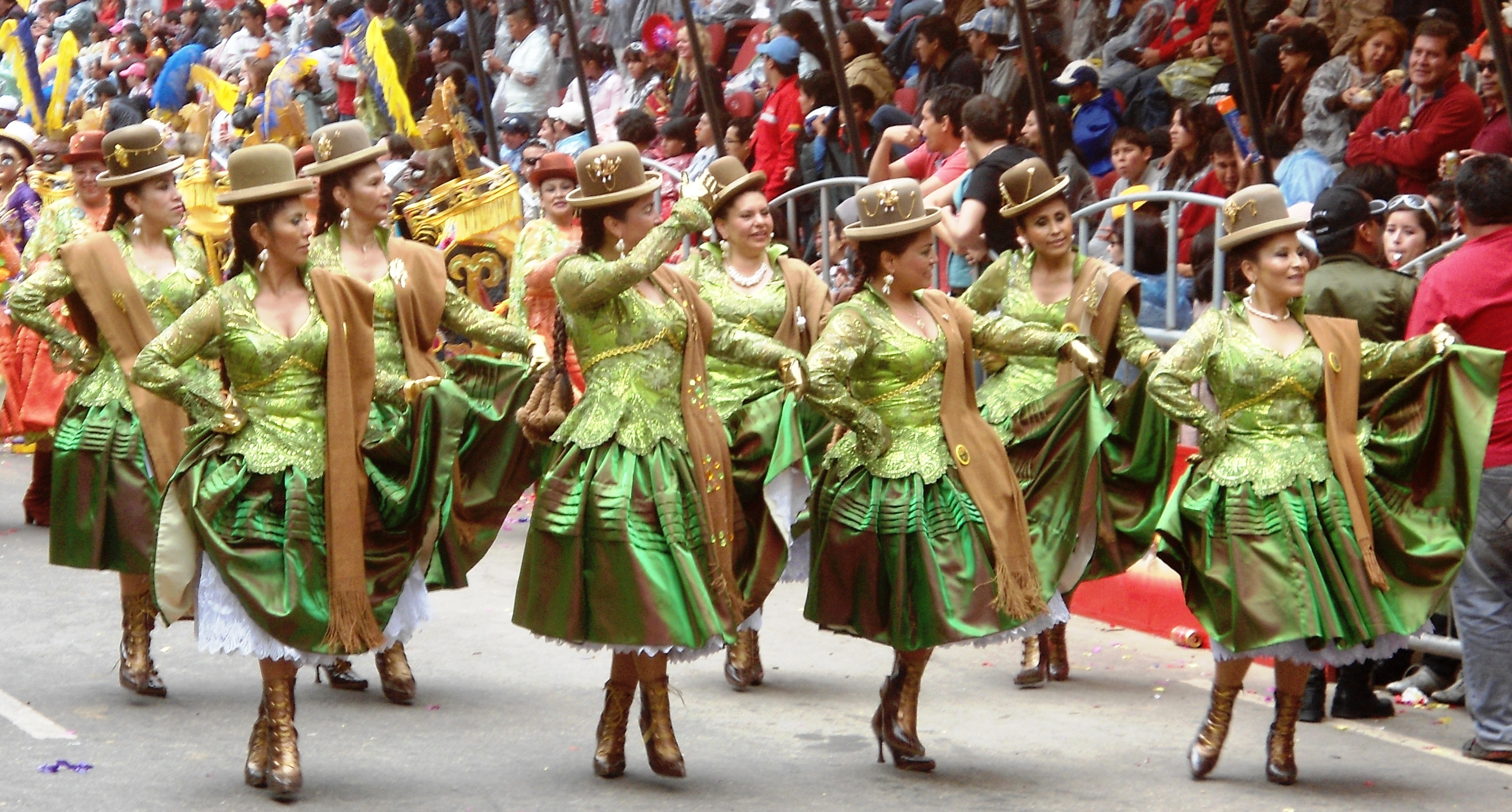 Description Desfile de morenada 02 Carnaval de Oruro 2012.JPG