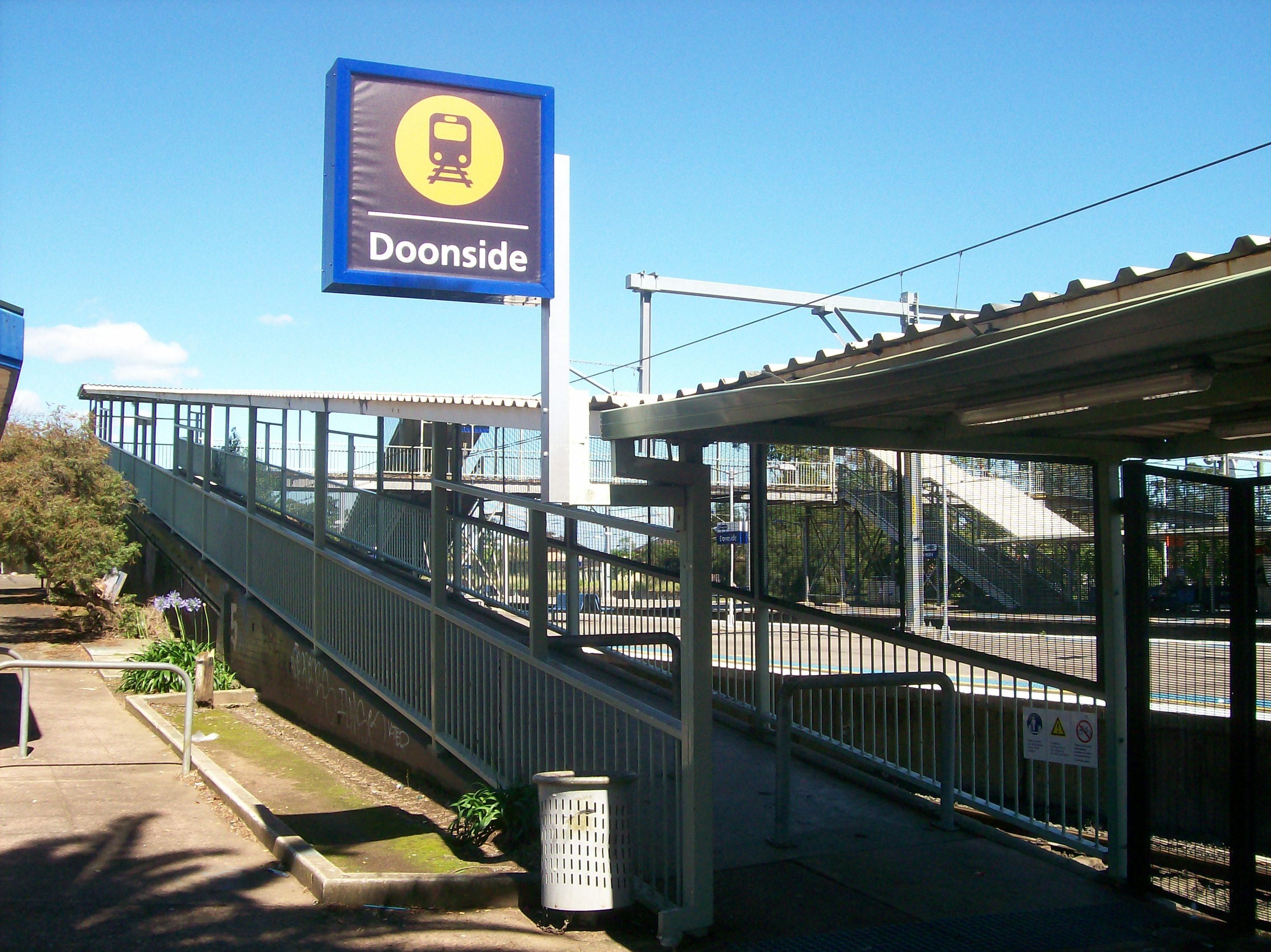 file doonside railway station east
