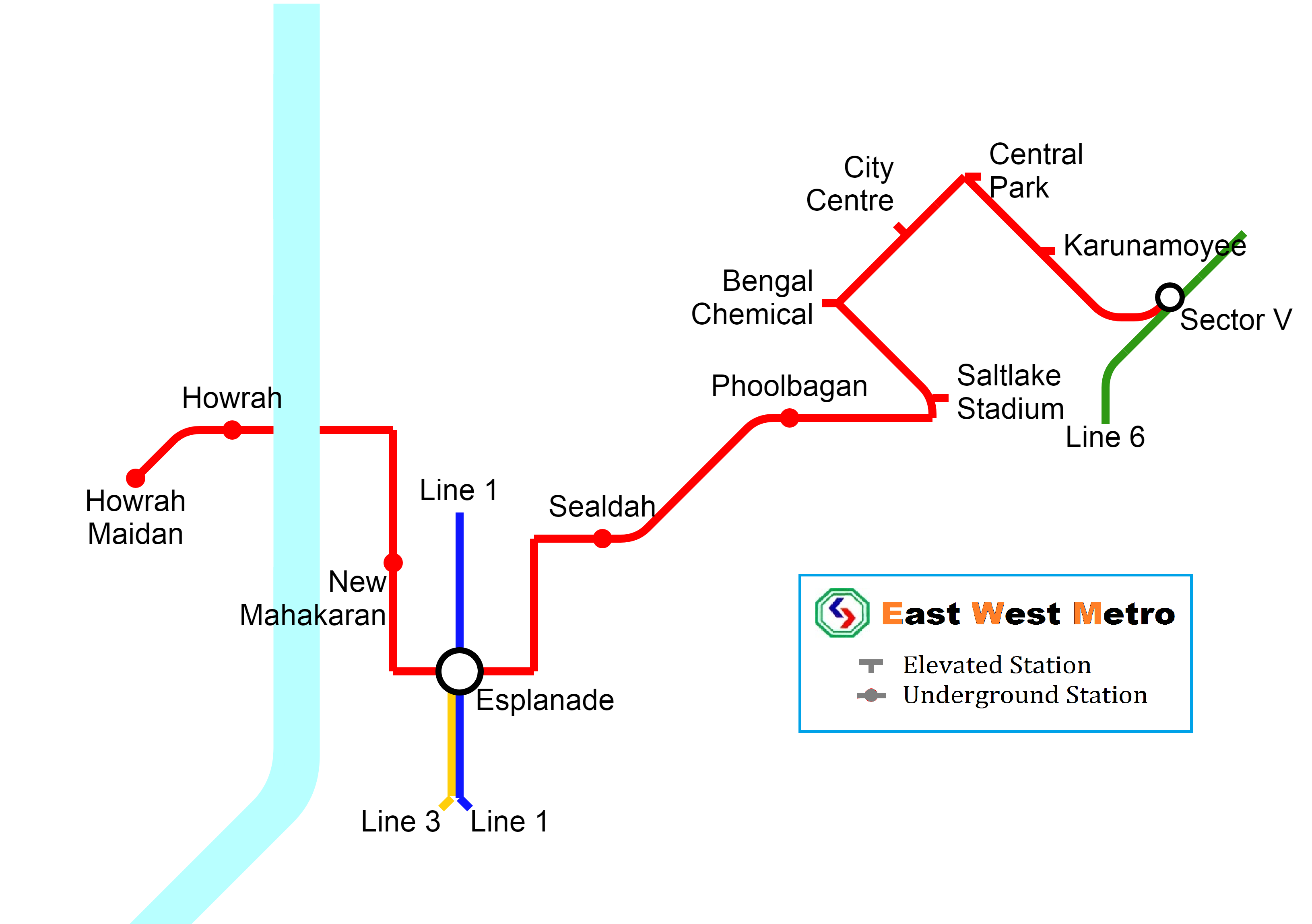 kolkata-metro-map