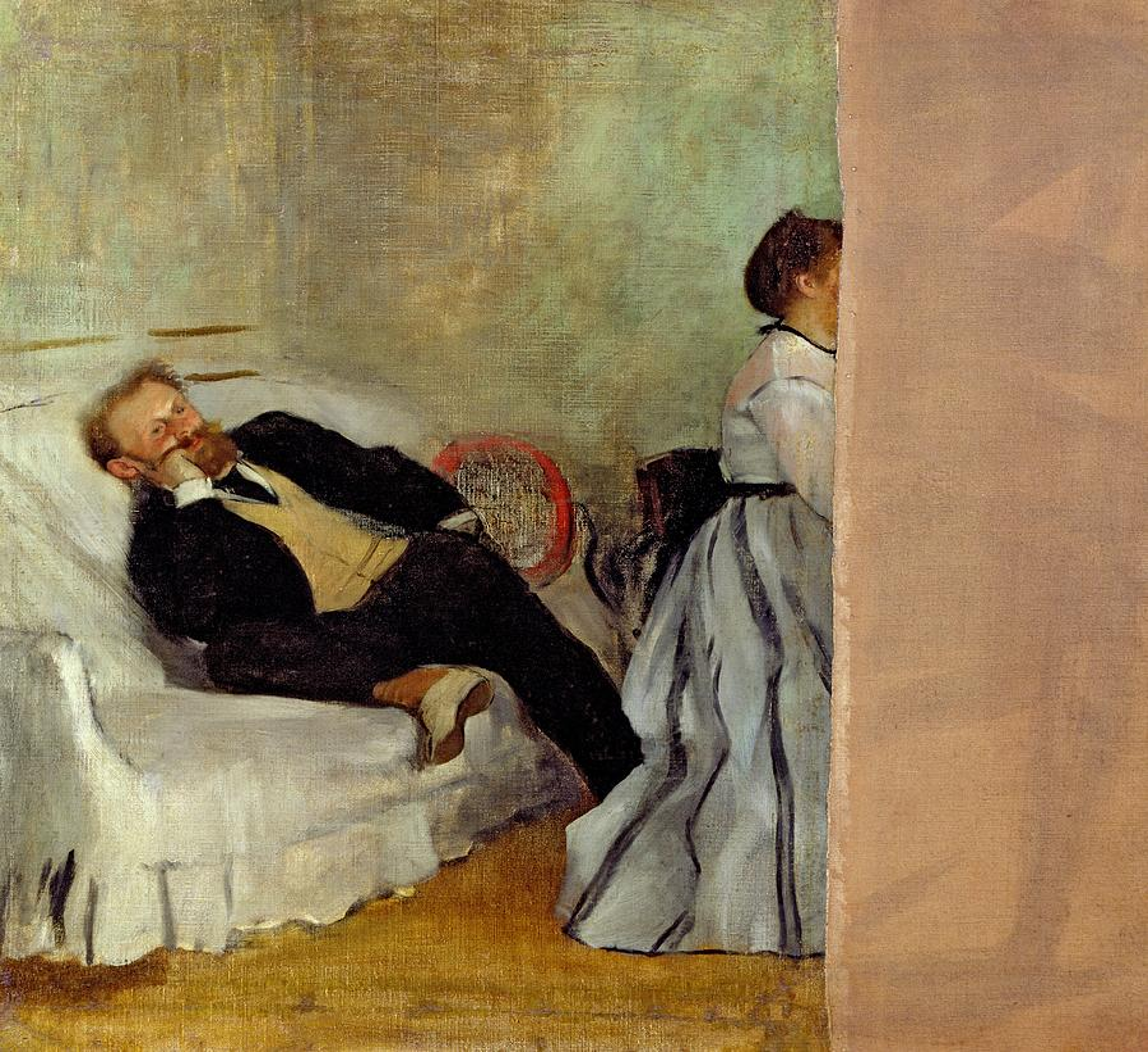 Edgar Degas - Monsieur et Madame Edouard Manet