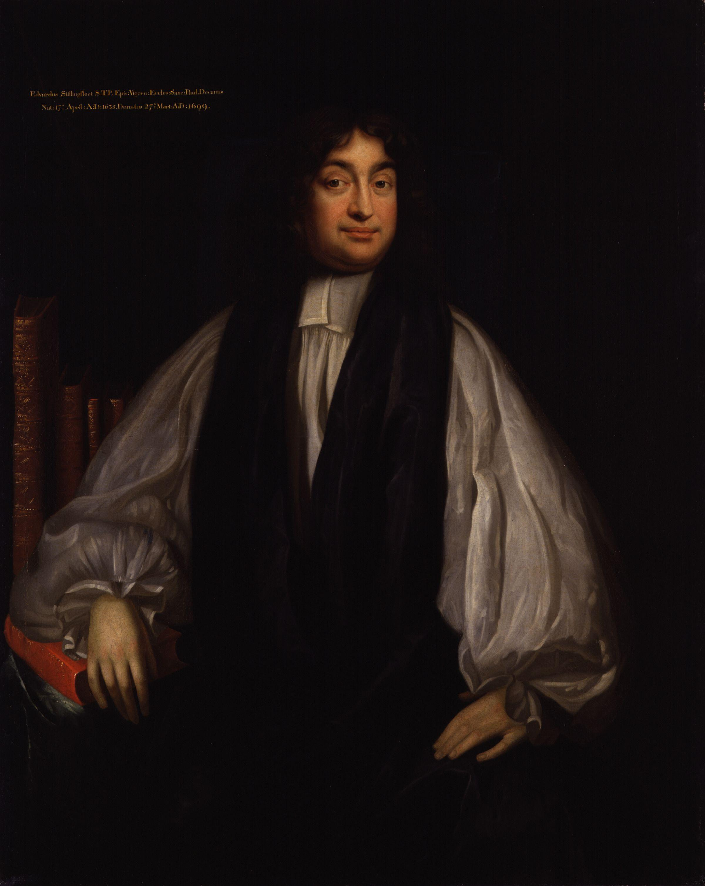 Portrait of Bishop Stillingfleet by [[Mary Beale
