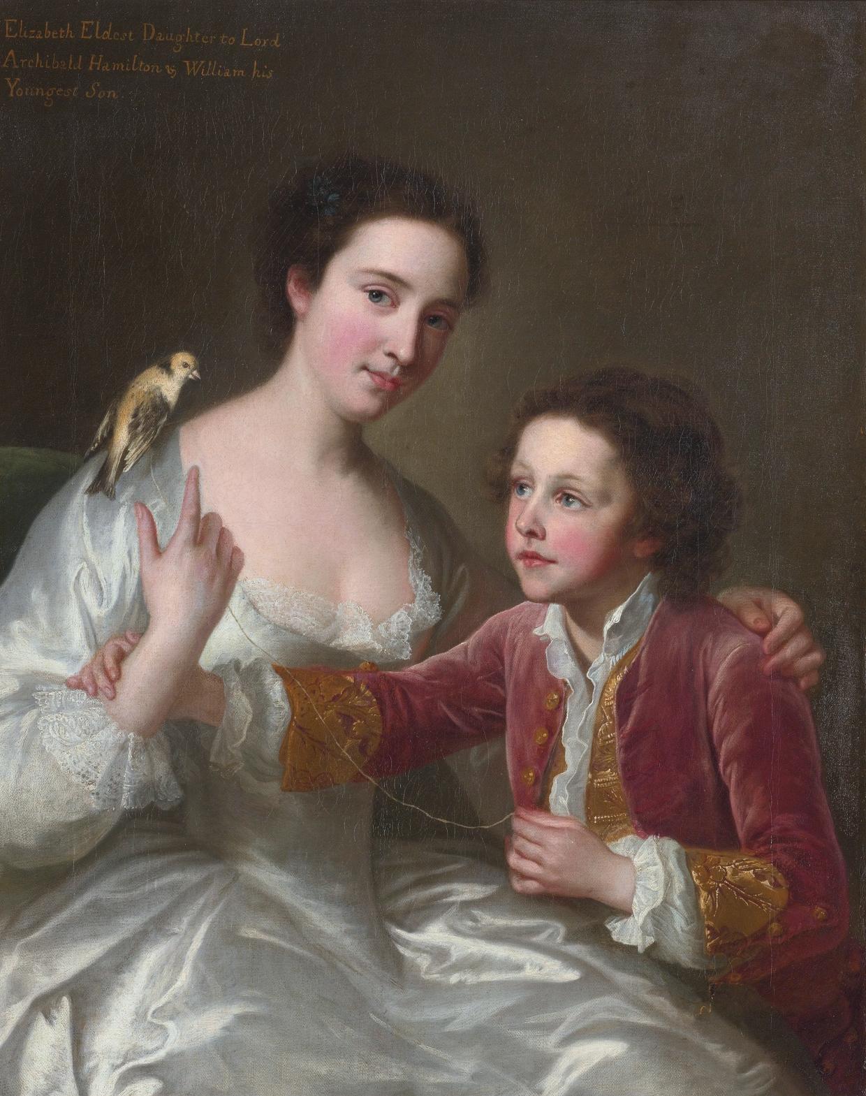 Jane Hamilton  British Noblewoman