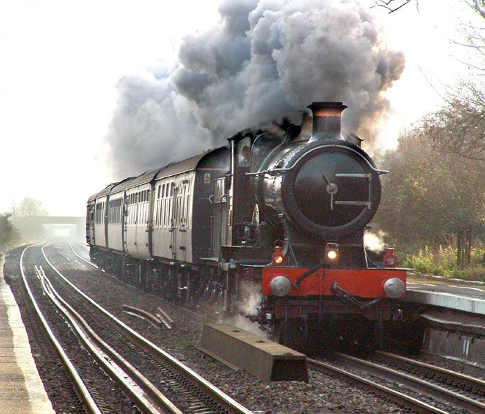 Locomotora de vapor [Historia] [imagenes] [info]