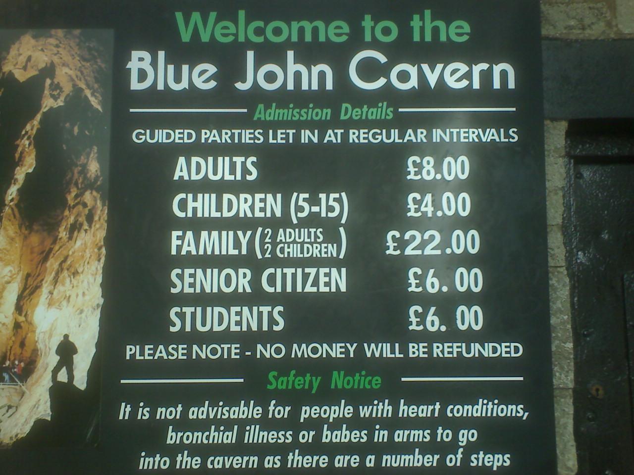 wiki Blue John Mines