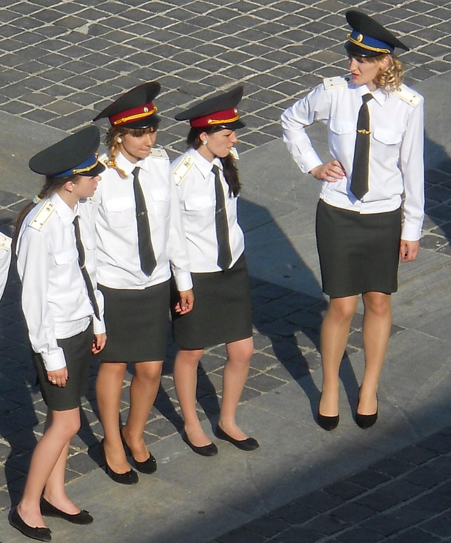 Description Female military people of Ukraine 2011 jpgUkraine People