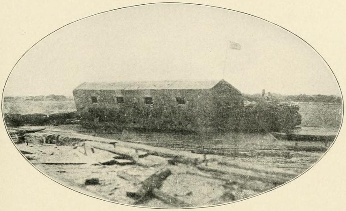 Floating Battery Of Charleston Harbor Wikipedia
