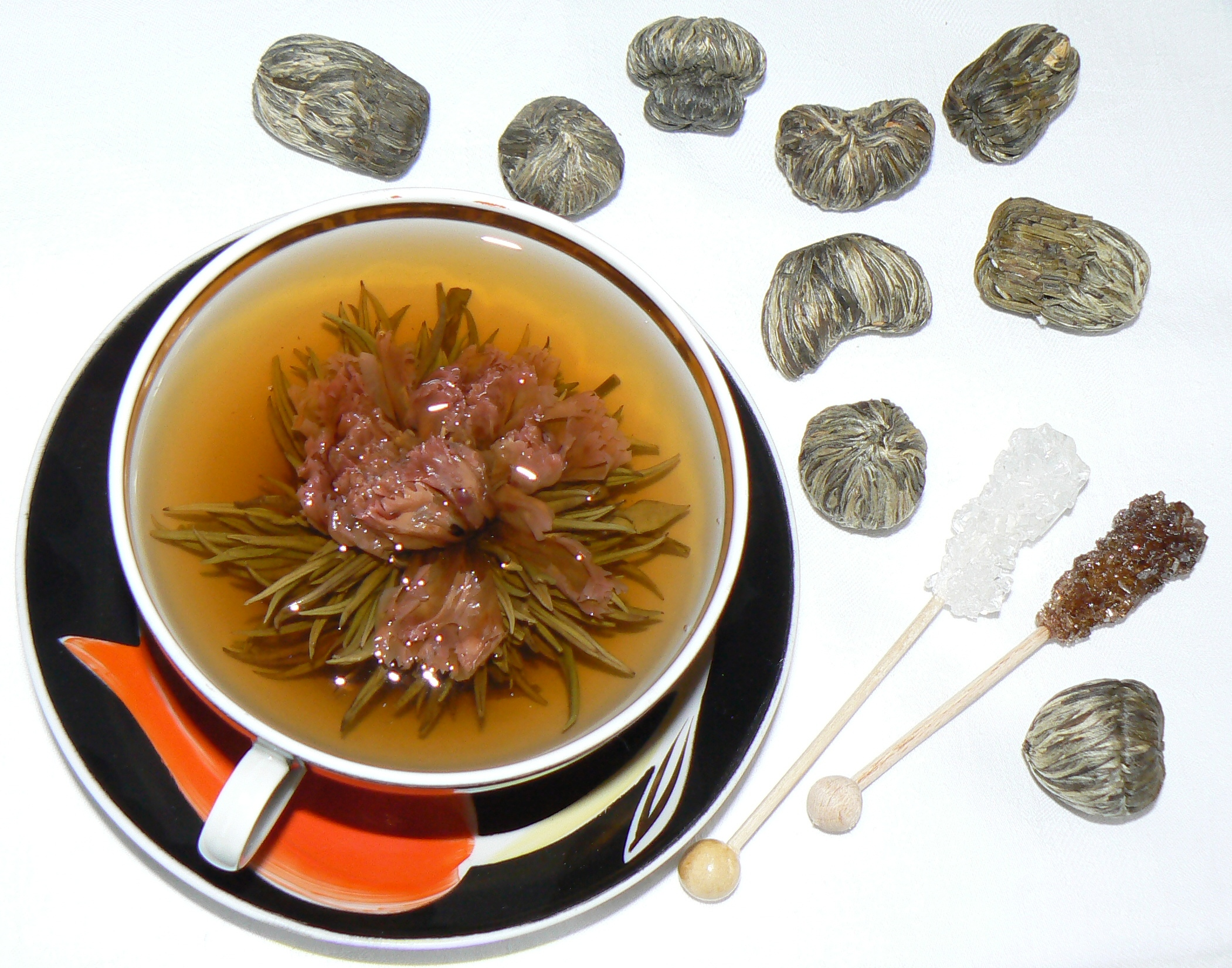 Chinese flower tea - It S A Real Specialty Of The Chinese Teas And Moreover Subdivided Into Scented Tea And Flower One So The Flower Tea Is Processing With Usage Of Dried