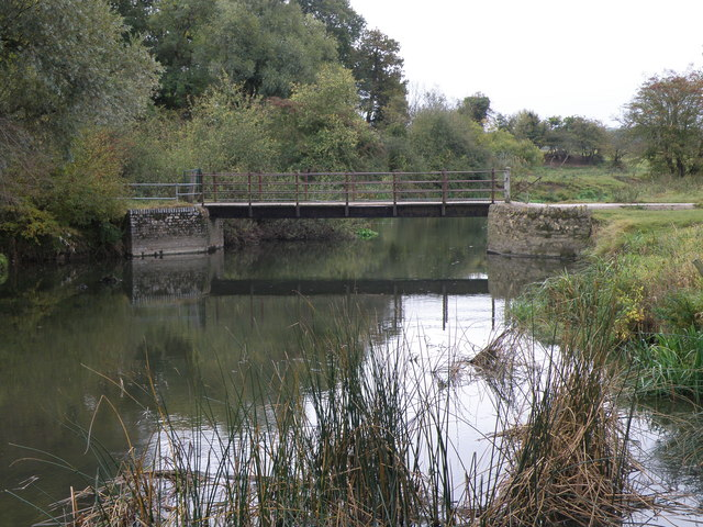 Footbridge over the Ouse - geograph.org.uk - 1530631