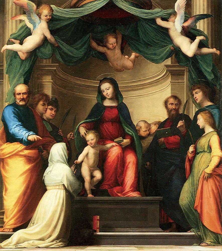 Mariage mystique de sainte Catherine de Sienne — Wikipédia