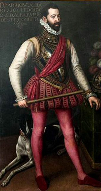 Don Fadrique Alvarez de Toledo was commander of the Spanish troops during part of the Dutch rebellion. Fradique alvarex de toledo.PNG