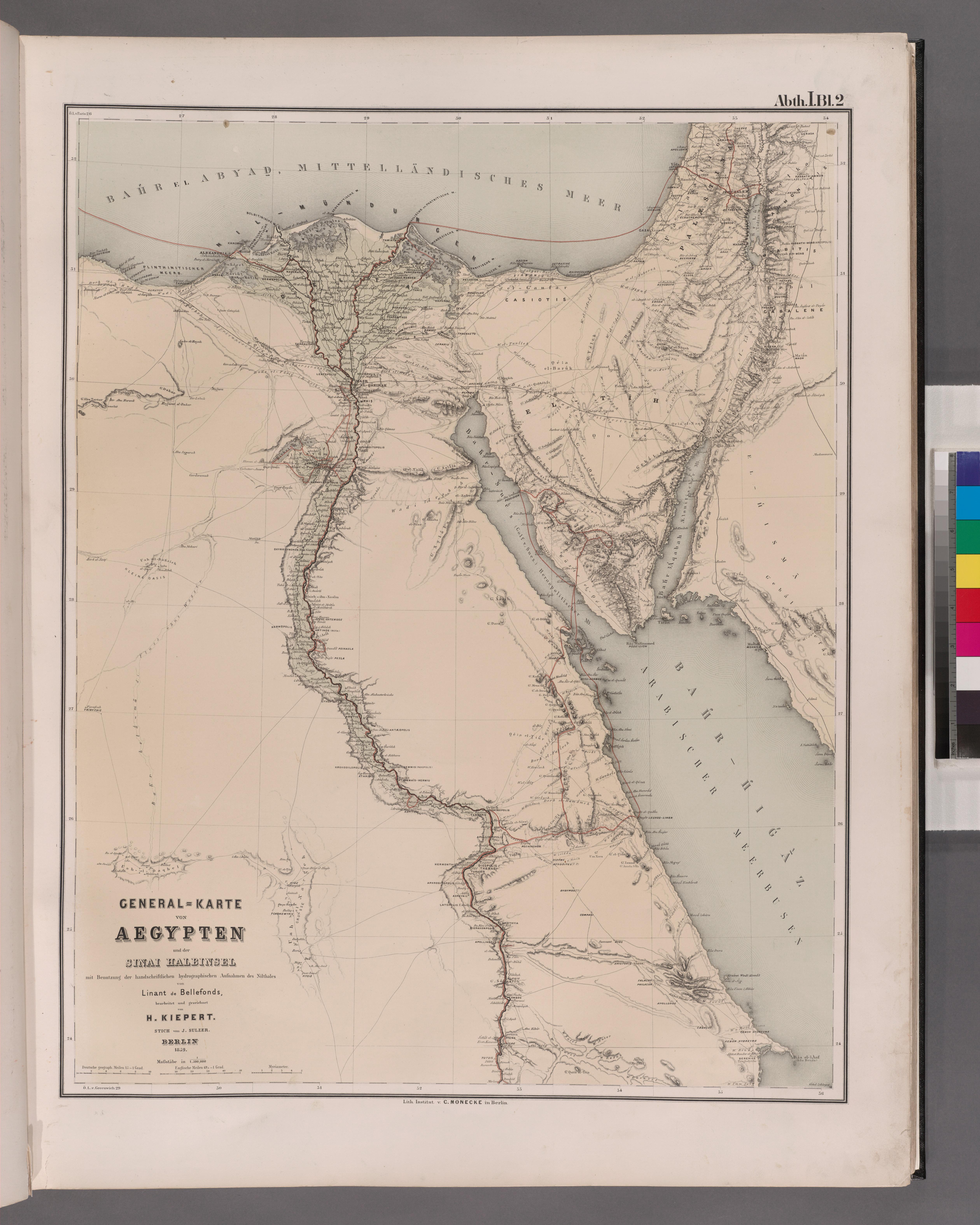sinai halbinsel karte File:General Karte von Aegypten und der Sinai Halbinsel mit