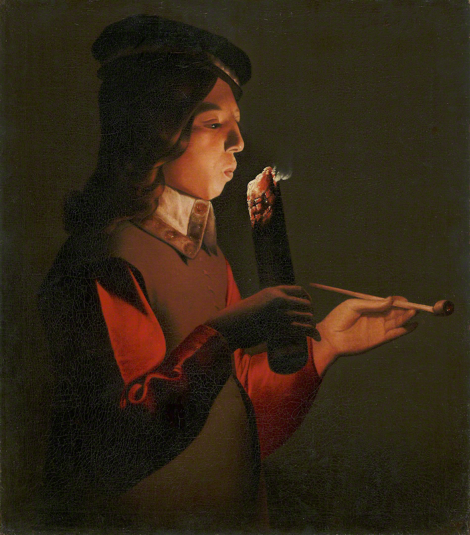 File:Georges de La Tour - Smoker.jpg