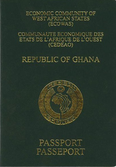 Ghanaian passport - Wikipedia