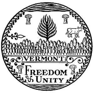 Plik:Great seal of Vermont bw.png