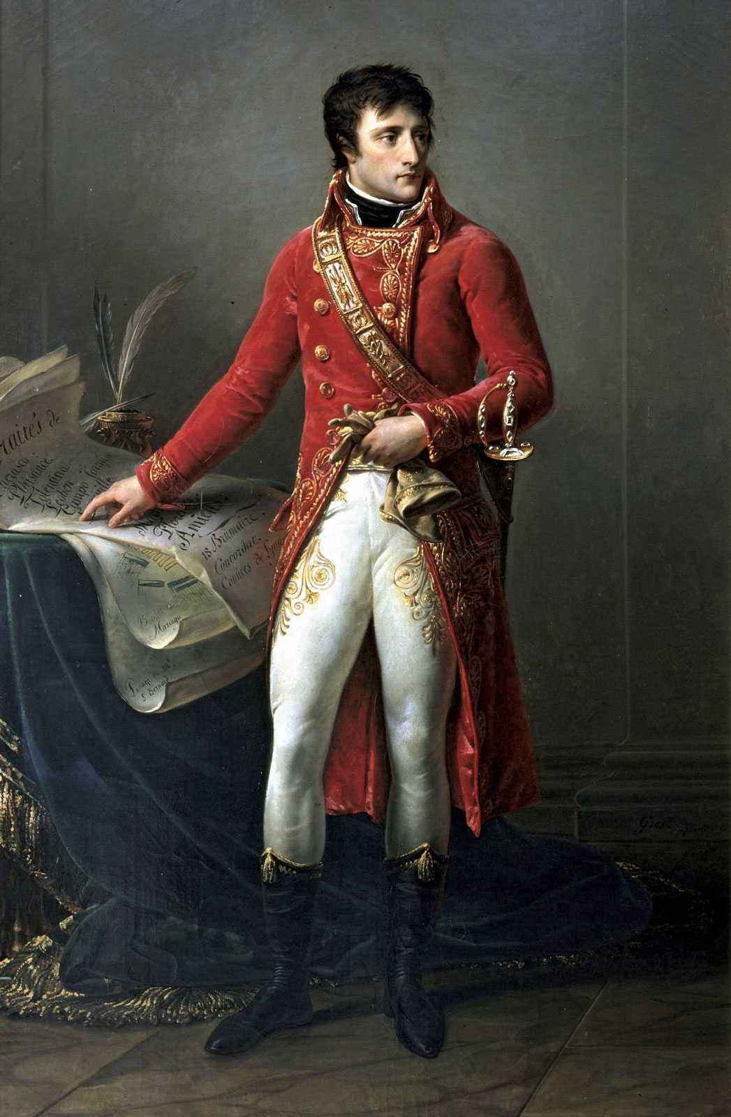 napoleon bonaparte clothing