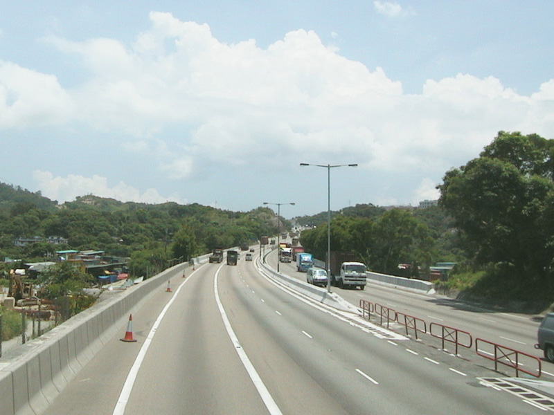 HK Tuen Mun Road So Kwun Wat Section