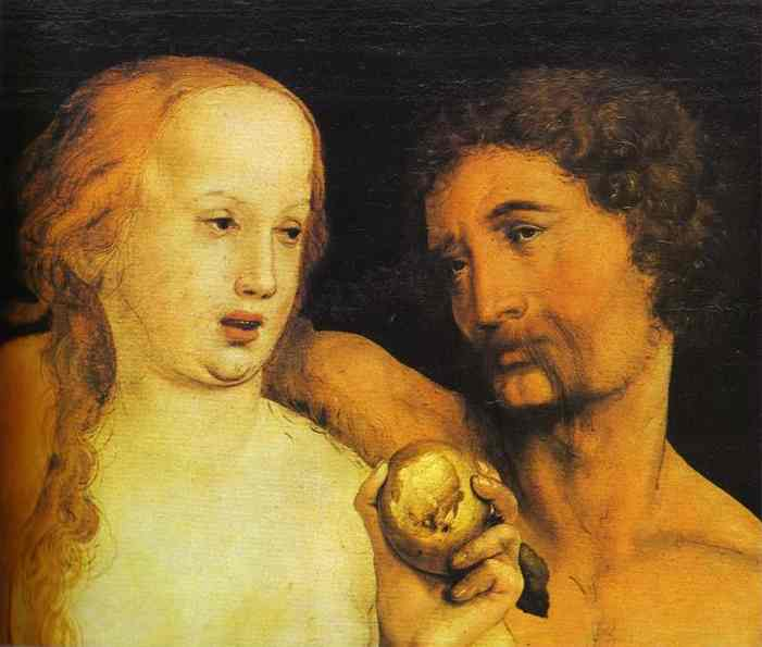 Hans Holbein - Adam and Eve