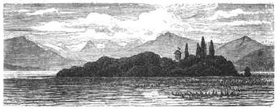 File:Hans Wolf 1876 Roseninsel Holzstich 4,5x11cm.jpg