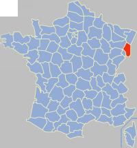 Lag vo Haut-Rhin z Frankrych